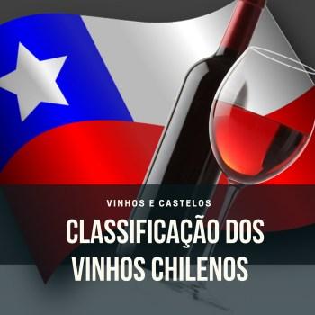 Classificação dos vinhos chilenos