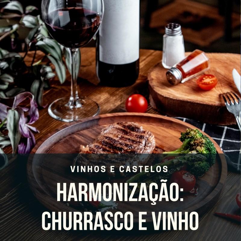 Harmonização churrasco com vinho