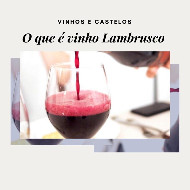 O que é um vinho Lambrusco ?