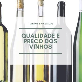 Preço e qualidade dos vinhos