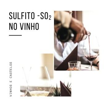 Sulfito – SO₂ nos vinhos