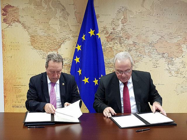 Secretaría General del SICA y UE firman Acuerdo de Cooperación para la lucha contra crimen organizado