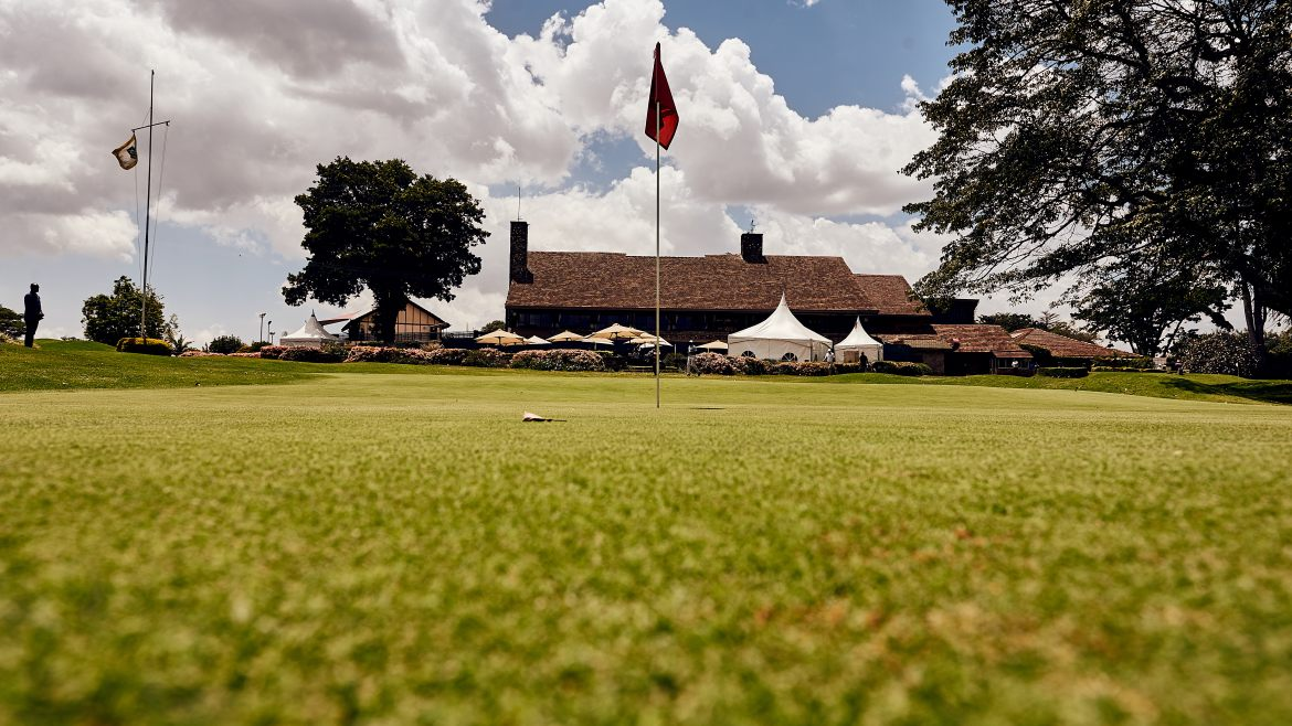 Lunch by the Lush Green Course offering Verdant Views