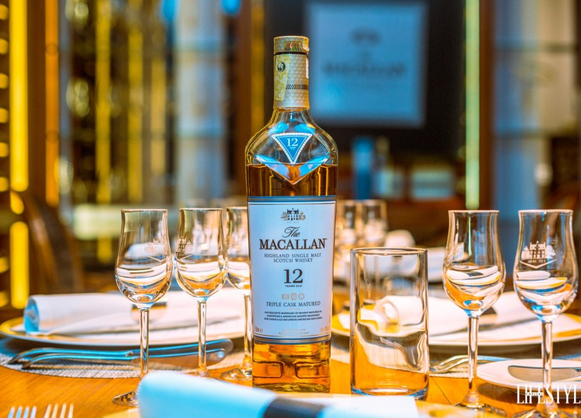 Whisky Pairing Dinner with Macallan; a quintessential sherry oak cask experience