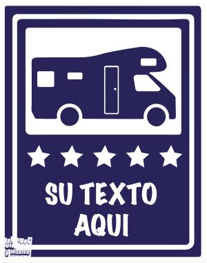 autocaravana 5 estrellas - vinilosymas.es