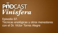 Podcast Vinísfera 07: Técnicas enológicas con el Dr. Torres Alegre