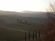 Enoturismo de lujo en la Toscana.