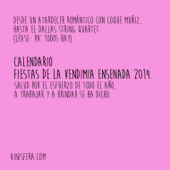 Fiestas de la Vendimia Ensenada 2014: Calendario de Eventos Grupales