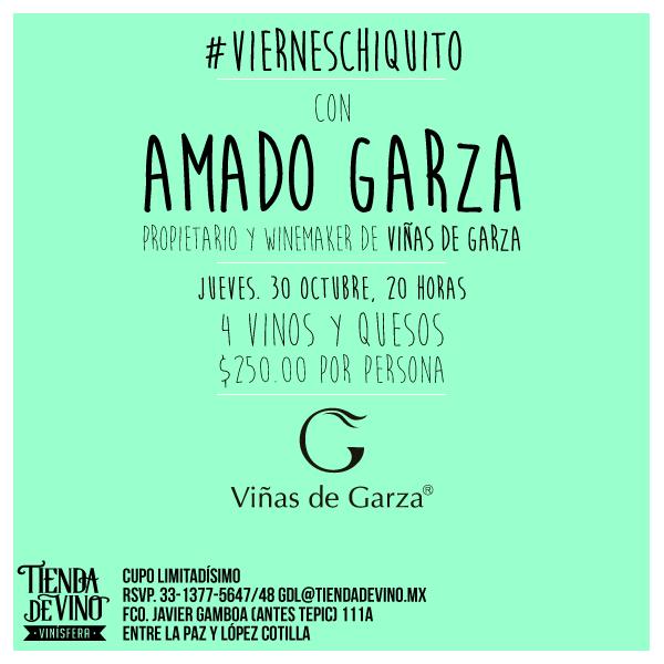 #GDL: Amado Garza en La Tienda