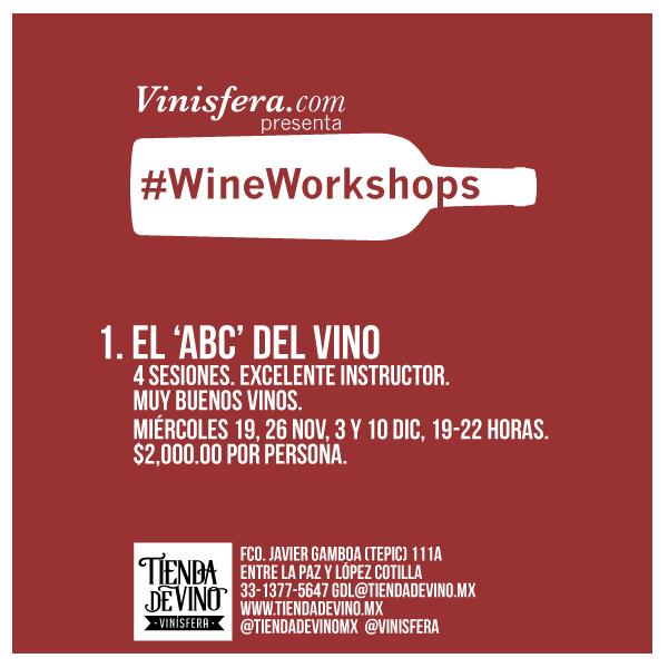 #GDL: Curso Práctico de Introducción al Vino