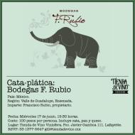 #GDL: Cata y plática con Francisco Rubio, Bodegas F. Rubio