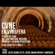 #Cata: Prueba CVNE Imperial Reserva en La Tienda de Vino