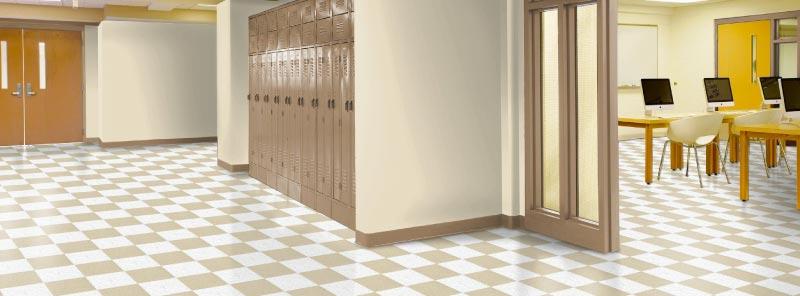 Pisos vinílicos para centros educativos