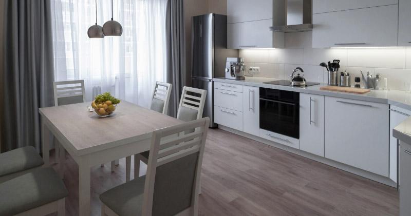 tipos de pisos de PVC más comunes