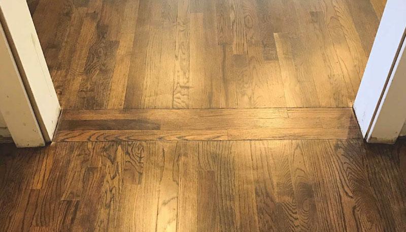 transicion piso laminado