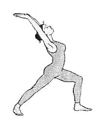 Illustration Virabhadrasana