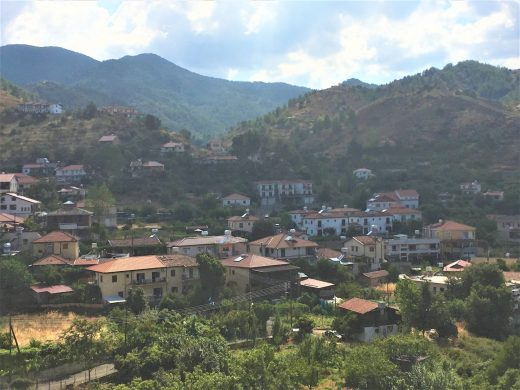Kakopetria Village in Solea Valley