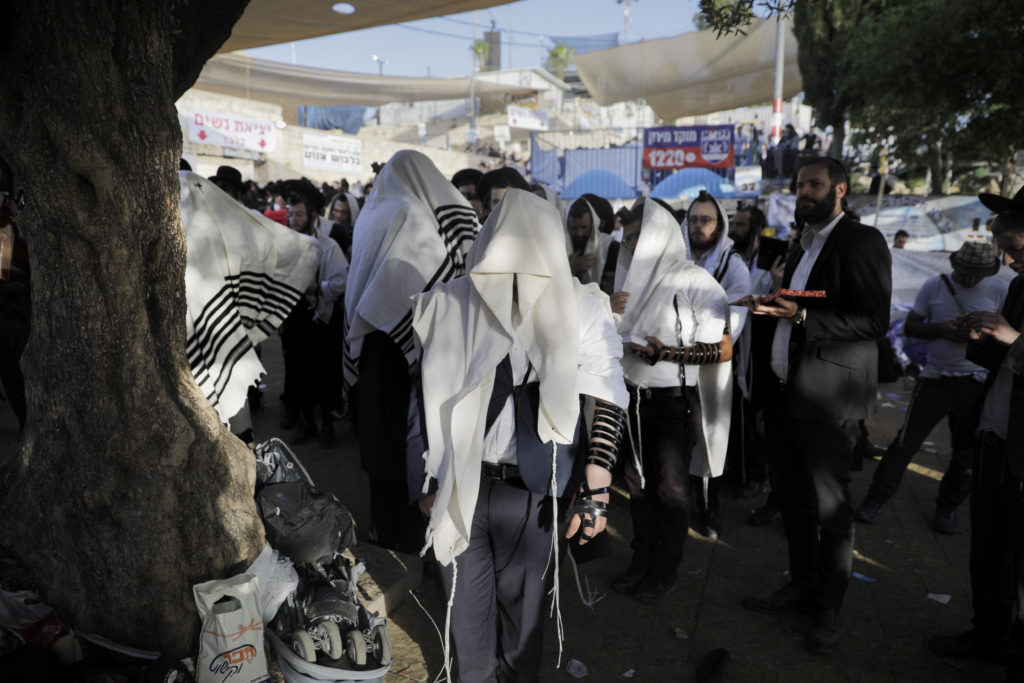 Photos of The Lag B'Omer Tragedy 8