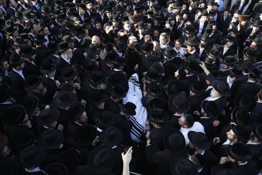 Photos of The Lag B'Omer Tragedy 18