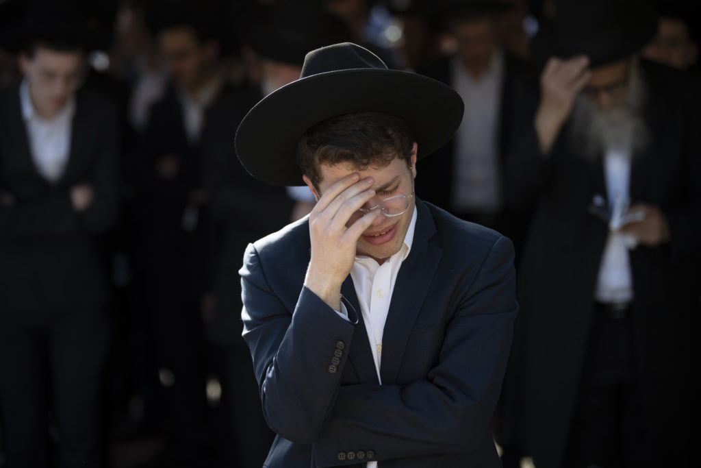 Photos of The Lag B'Omer Tragedy 25