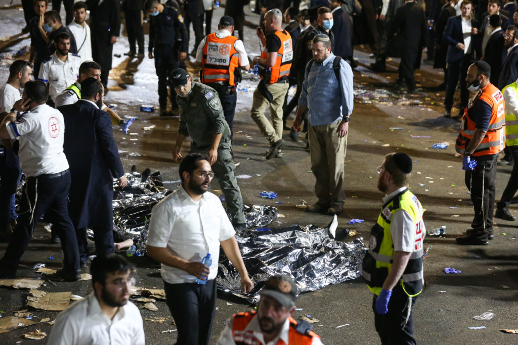 Photos of The Lag B'Omer Tragedy 26