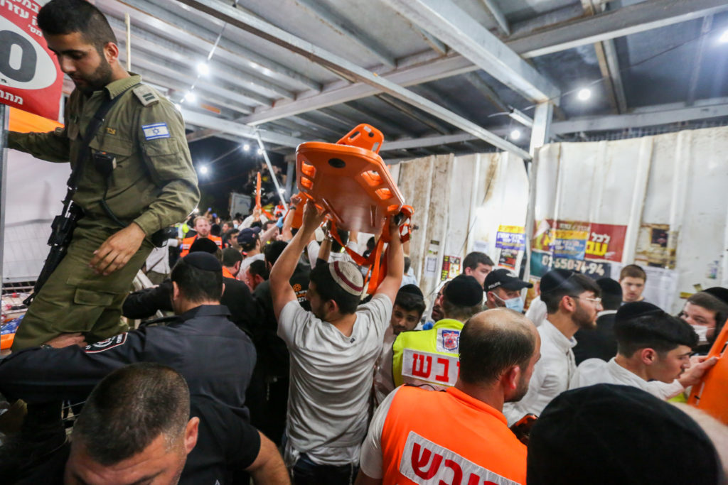 Photos of The Lag B'Omer Tragedy 29