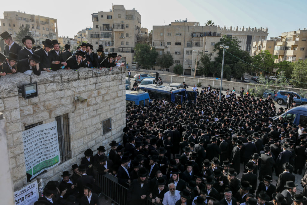 Photos of The Lag B'Omer Tragedy 46