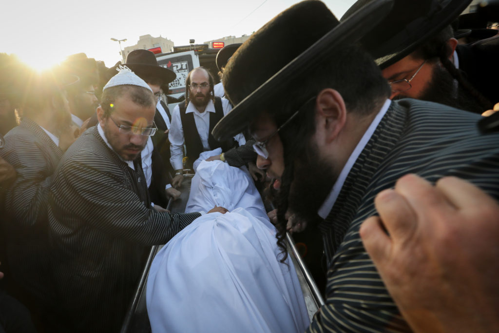 Photos of The Lag B'Omer Tragedy 50