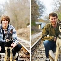 'Antes e Depois' de Animais de Estimação #Then and Now with Pets
