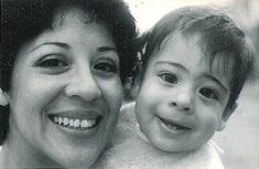 mom & I 1985