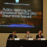9/15/2014 Public Hearing On Self Driving Vehicle Insurance Issues By CA Dept Of Insurance