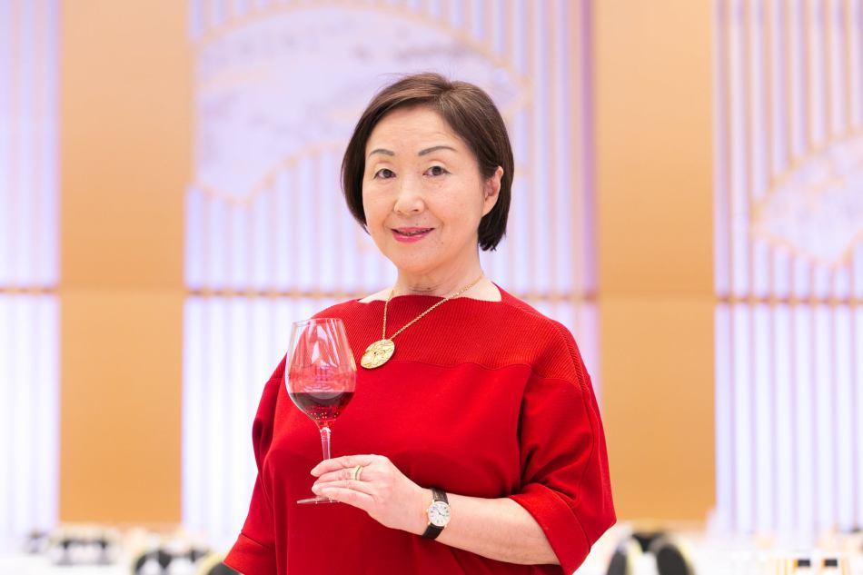 "Ms. Yumi Tanabe, president of ""Sakura"" Japan Women's Wine Awards. (Pic: Sakura Awards)"