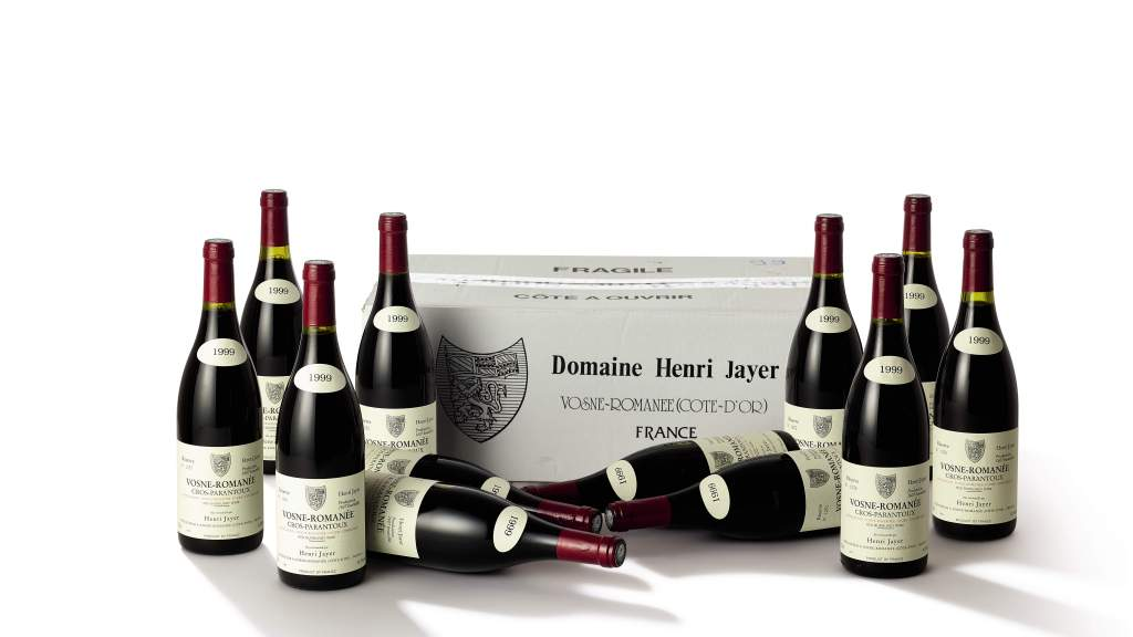 75 lots of Henri Jayer will be on offer, estimated in excess of HK$29.8 million / US$3.8 million. (pic: Sotheby's)