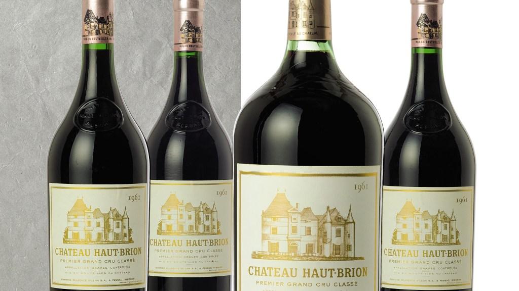 Château Haut-Brion 1961 (pic: Sotheby's)