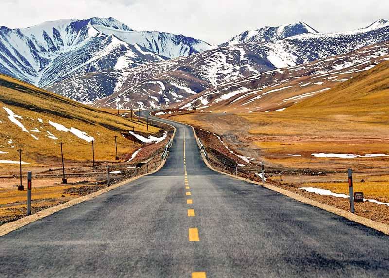 Qinghai is located on Tibetan plateau in northwestern China(pic: Internet)