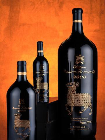 Château Mouton Rothschild 15 litre bottle (pic: Bonhams)