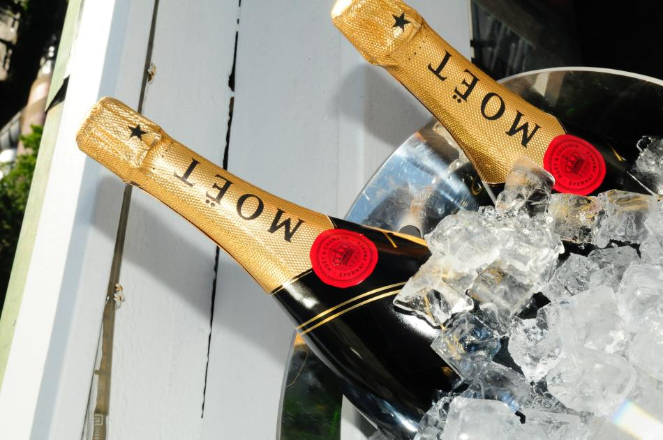 Moet & Chandon (pic: Old Fellow from Unsplash)