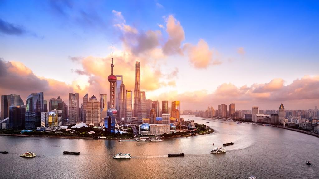 Shanghai skyline at dusk (photo credit: iStock)