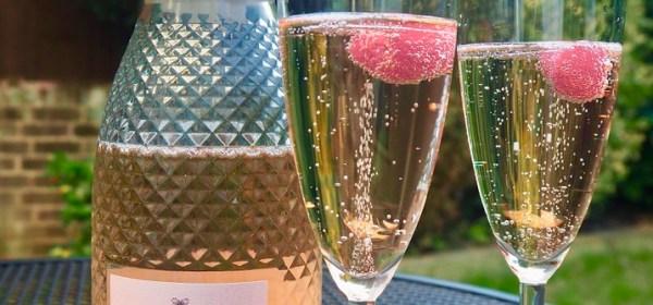 Розовое просекко итальянское игристое вино