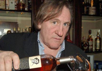 gerard depardieu Жерар Депардье вино селебрити вино