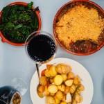 Abbacchio alla Romana баранина по-итальянски + португальское красное вино тинта рориш шираз турига насьональ аликанте буше