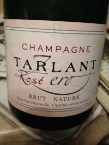 Champagne Rosé Zero brut nature - Tarlant