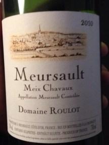 Meursault Meix Chavaux 2010 - Roulot