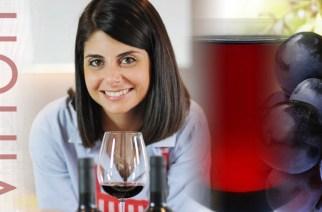La Manager della Dieta Mediterranea Silvia Lanzafame esploratrice nel Vinitaly 2016 per Vinoit.it