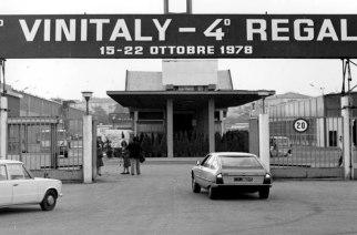 Le prime edizioni del Vinitaly