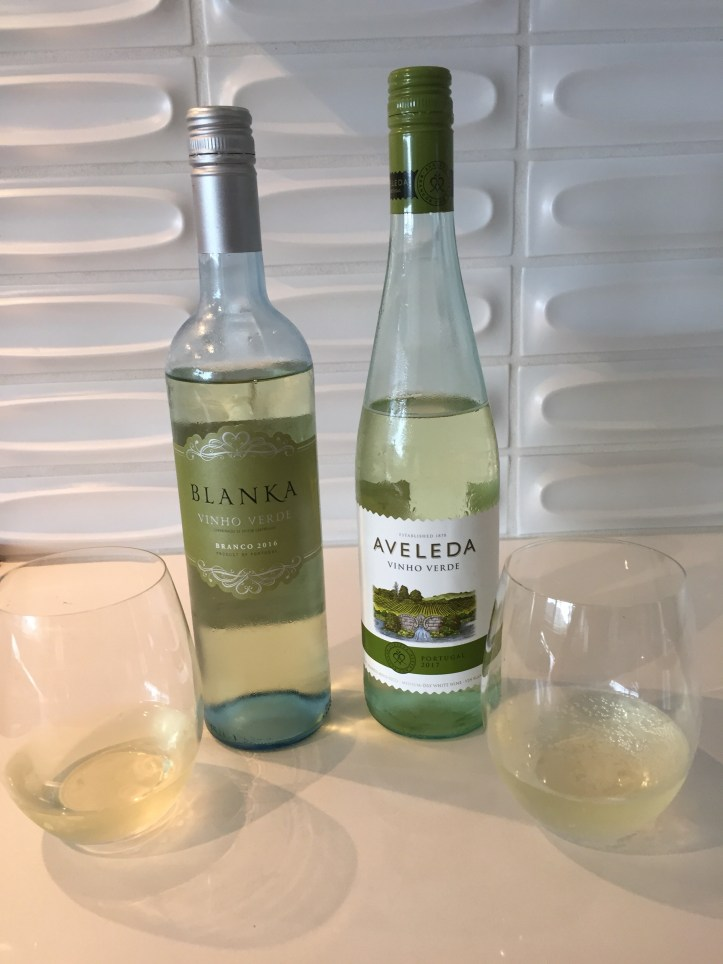 2016 Blanka Vinho Verde & 2016 Aveleda Vinho Verde