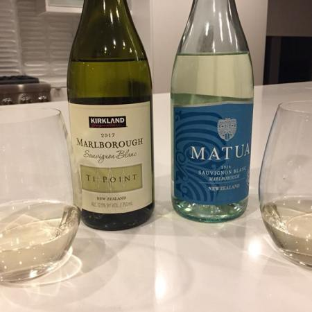 2017 Kirkland Marlborough (New Zealand) Sauvignon Blanc & 2016 Matua Marlborough (New Zealand) Sauvignon Blanc