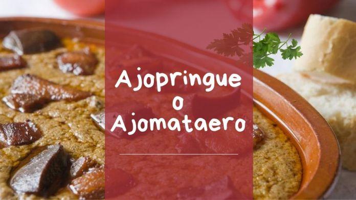 ajopringue ajomataero receta como se hace