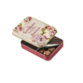 chocolate amatller flores frambuesa
