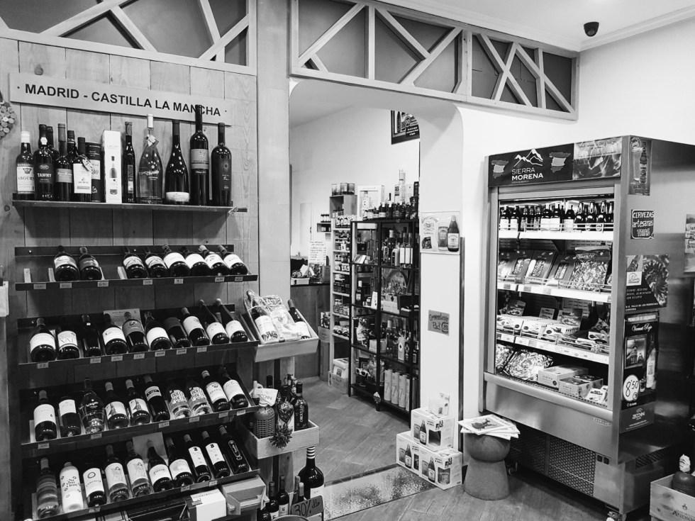 Foto de las de dependencias de la vinoteca